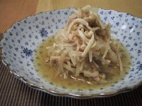 ∽∽大根・ツナ・エノキのさっと煮∽∽