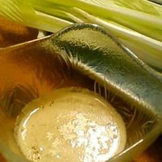 野菜スティックにマヨ味噌ごまダレ