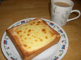 甘いチーズトースト☆