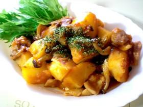 ✿鶏肉とじゃが芋のケチャップ甘辛炒め✿