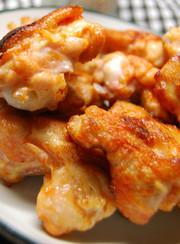 鶏もも肉の味噌ヨーグルト漬けの写真