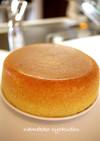 ●炊飯器でジェノワーズのスポンジケーキ●