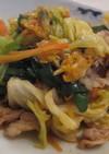 野菜たっぷりの豚キムチ炒め