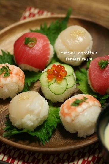 桃の節句☆手まり寿司