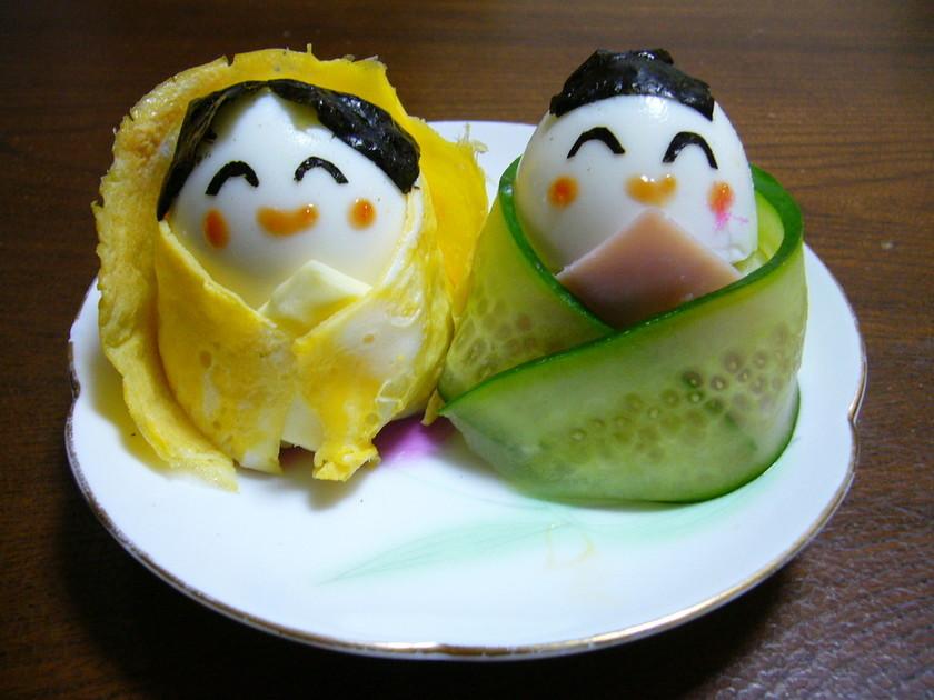 お雛様&お内裏様 of ポテトサラダ♪