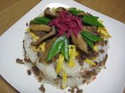 サバ缶を使ったちらし寿司~丹後ばら寿司~の写真