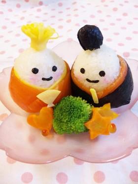 お雛様☆手毬寿司