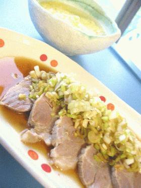 お肉も茹で汁もぜんぶ頂きましょ♪◆塩豚◆