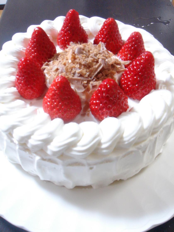 いちごのショートケーキ ☆ジェノワーズ☆