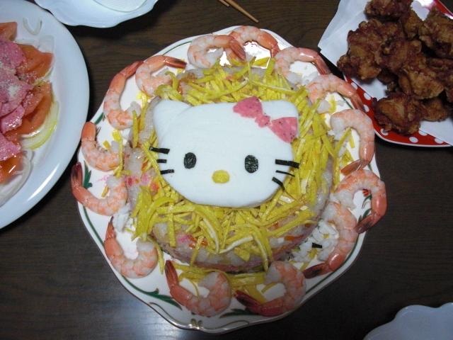 ♥ちらし寿司~キティ~♥