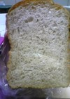 HBで雑穀粉入り食パン