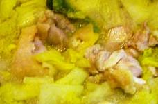 大根と白菜と鶏のみぞれ鍋