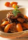 鶏胸肉ときのこのバルサミコマリネ。