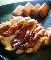 自家製!スモークチーズ&スモークチキンの写真