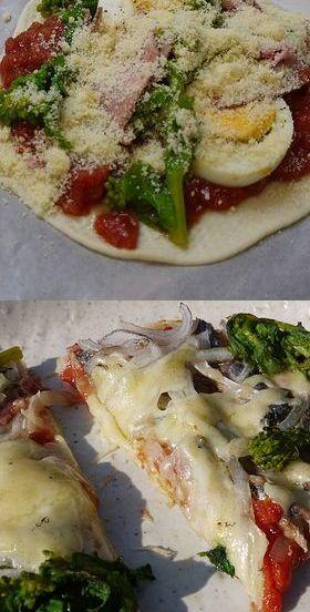 ローマ風♪クルスピーピザ生地