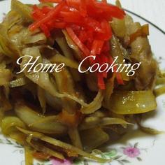ご飯がすすむ 豚肉とごぼうの甘辛炒め