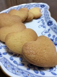 材料5つで♪簡単ハトサブレ味クッキー