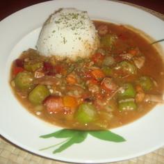 アメリカ南部料理★簡単・適当 ガンボ