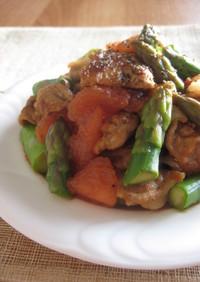 カリカリ豚とカラフル野菜のサラダ