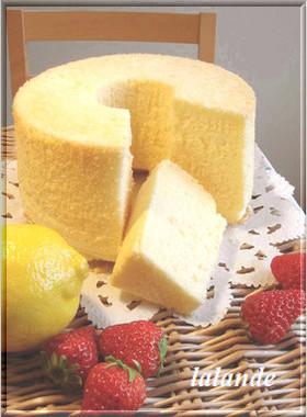 *レモンシフォンケーキ♪