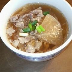 ちょっと豪華な大根スープ