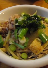 そば湯で美味しい蕎麦湯鍋