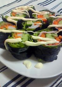 シャキシャキ海苔巻きサラダ♪