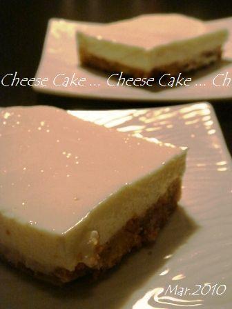 簡単♪リコッタ de レアチーズケーキ♡