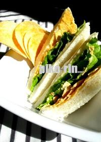 ●ポテトチップス de サンドイッチ●