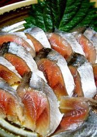 家庭用包丁で作る生食サンマ(刺身~酢〆)