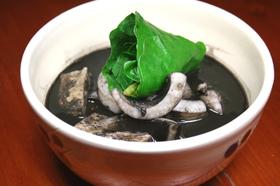 沖縄料理 いかすみ汁