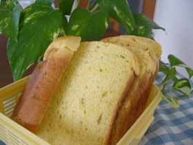 ☆HBで早焼き☆ハニーinさつまいもパン