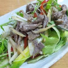 牛肉とごぼうのアジアンごちそうサラダ