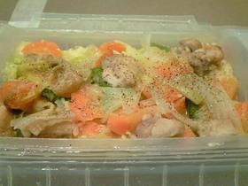 ルクエで作る野菜のクリーム煮