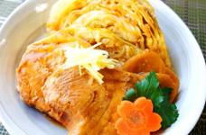 春キャベツ♪簡単♪煮魚のキャベツ添え