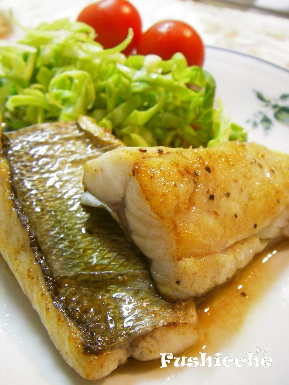 極上♡白身魚のポワレ