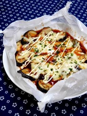 博多屋台の味★簡単★なすのチーズ焼き!