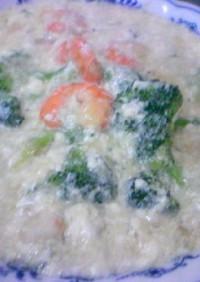 余った卵白と豆腐でふわふわ炒め