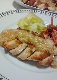 鶏胸でジュ-シ~☆さっぱり葱塩ゆず胡椒♪