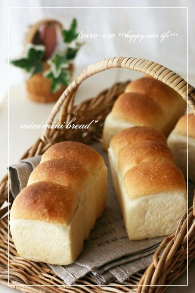 HB*ふわっとしっとり♪ミニミニ食パン♪