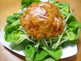 超簡単な一品☆きゅうりとカニカマのサラダ