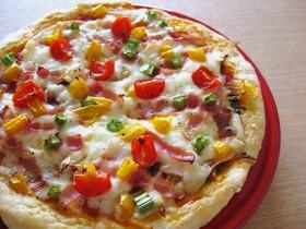 おからde簡単ピザ