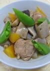 梅酒を料理に♪鶏肉と根菜の筑前煮