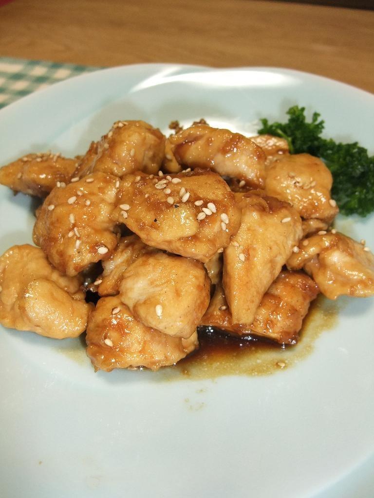 鶏ムネ肉(or鶏ササミ)の甘辛レモン炒め