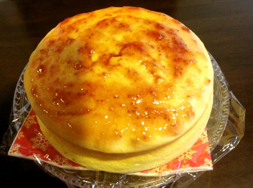 スフレカスピ海ヨーグルトケーキ