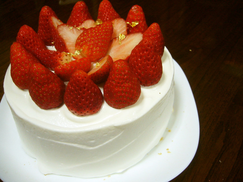 失敗しない!簡単ショートケーキ
