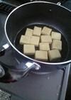 こうや豆腐の基本☆含め煮