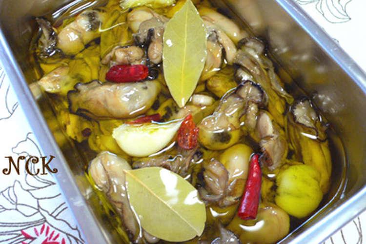 牡蠣 の オイル 漬け 牡蠣のオイル漬けレシピ・作り方の人気順|簡単料理の楽天レシピ