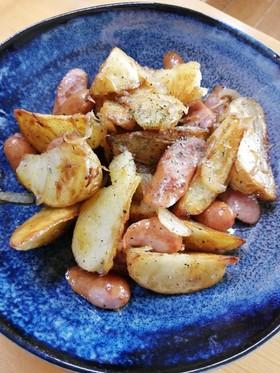 手早く簡単*ジャガイモと玉ねぎの炒め物