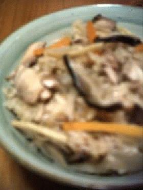 焼きサバご飯・こっくり仕立て